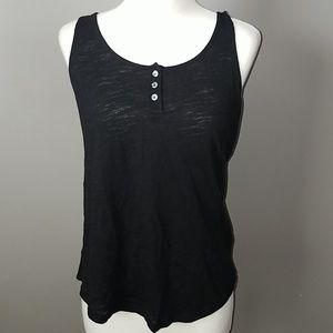 Old Navy Tops - Henley Burnout Tank Top-Small